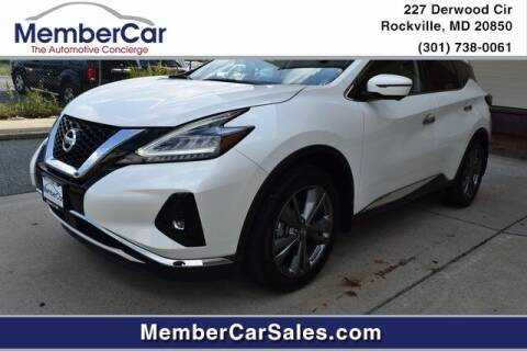 2019 Nissan Murano for sale at MemberCar in Rockville MD