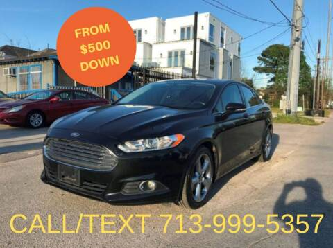 2015 Ford Fusion for sale at Saipan Auto Sales in Houston TX
