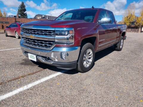 2017 Chevrolet Silverado 1500 for sale at HIGH COUNTRY MOTORS in Granby CO