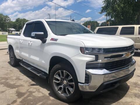 2019 Chevrolet Silverado 1500 for sale at Creekside Automotive in Lexington NC