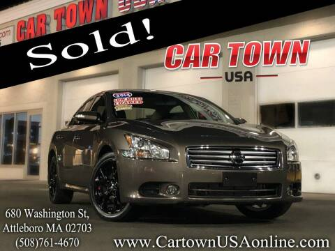 2014 Nissan Maxima for sale at Car Town USA in Attleboro MA