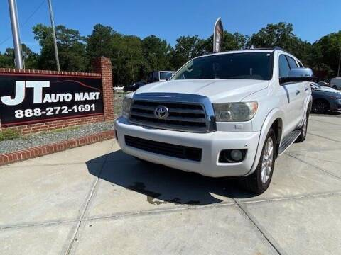 2008 Toyota Sequoia for sale at J T Auto Group in Sanford NC