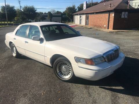 2000 Mercury Grand Marquis for sale at Mike's Auto Sales of Charlotte in Charlotte NC