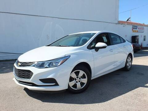 2018 Chevrolet Cruze for sale at Port Motors in West Palm Beach FL