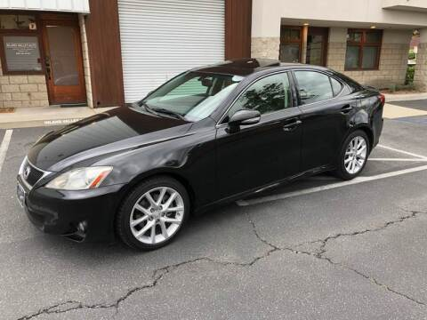 2012 Lexus IS 250 for sale at Inland Valley Auto in Upland CA
