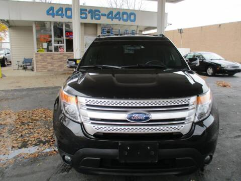 2013 Ford Explorer for sale at Elite Auto Sales in Willowick OH