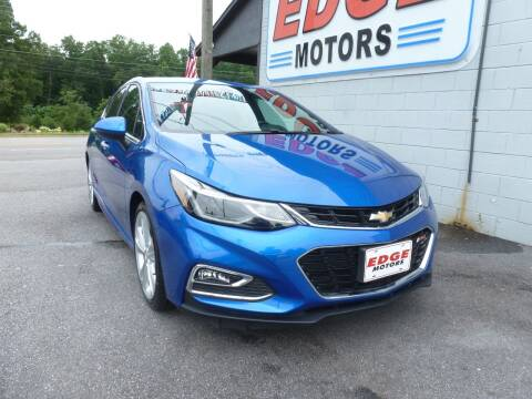 2017 Chevrolet Cruze for sale at Edge Motors in Mooresville NC