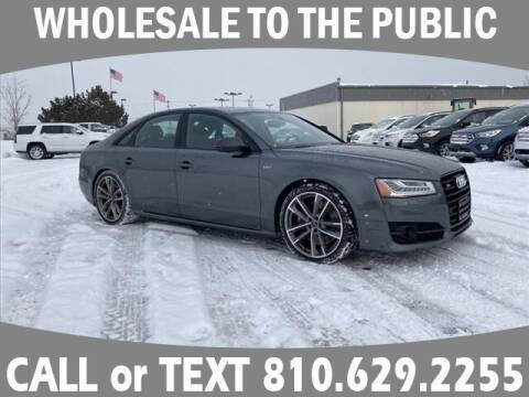 2018 Audi S8 plus for sale at Lasco of Grand Blanc in Grand Blanc MI