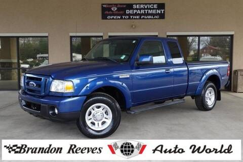2011 Ford Ranger for sale at Brandon Reeves Auto World in Monroe NC