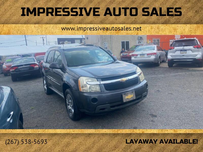 2009 Chevrolet Equinox for sale at Impressive Auto Sales in Philadelphia PA