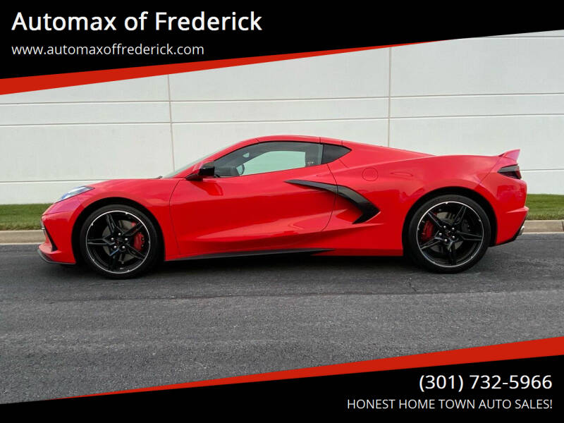 2020 Chevrolet Corvette for sale at Automax of Frederick in Frederick MD