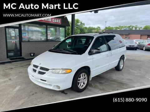 1999 Dodge Caravan for sale at MC Auto Mart LLC in Hermitage TN