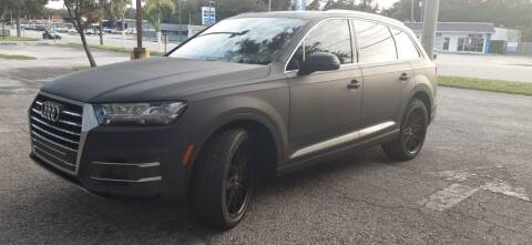 2019 Audi Q7 for sale at Royal Auto Trading in Tampa FL