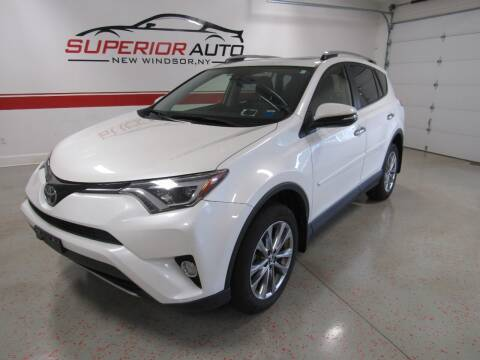 2018 Toyota RAV4 for sale at Superior Auto Sales in New Windsor NY