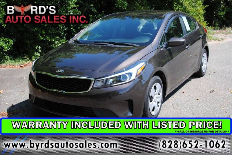 2017 Kia Forte for sale at Byrds Auto Sales in Marion NC