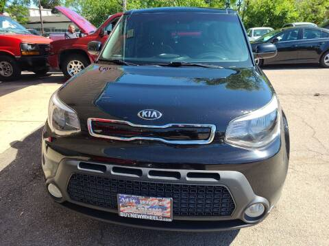 2015 Kia Soul for sale at New Wheels in Glendale Heights IL