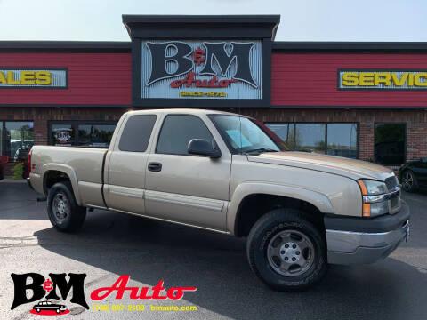 2004 Chevrolet Silverado 1500 for sale at B & M Auto Sales Inc. in Oak Forest IL