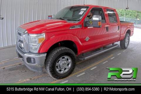 2016 Ford F-250 Super Duty for sale at Route 21 Auto Sales in Canal Fulton OH