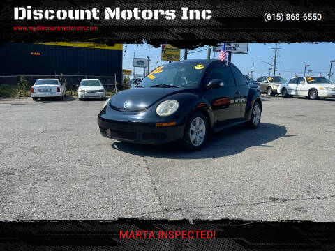 2007 Volkswagen New Beetle for sale at Discount Motors Inc in Madison TN