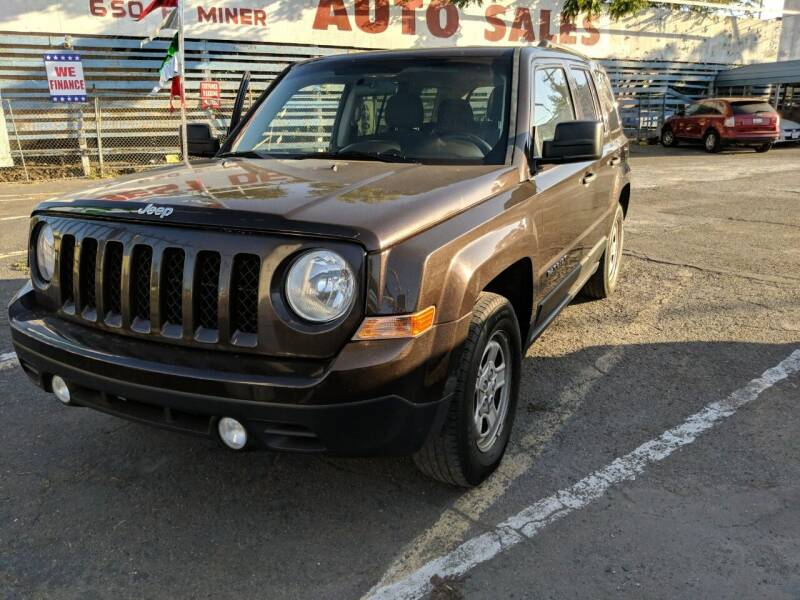 2014 Jeep Patriot for sale at Best Deal Auto Sales in Stockton CA