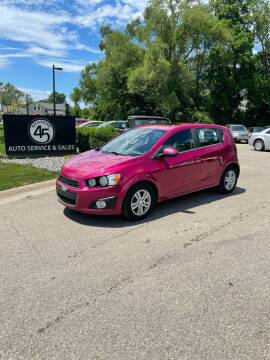 2014 Chevrolet Sonic for sale at Station 45 Auto Sales Inc in Allendale MI
