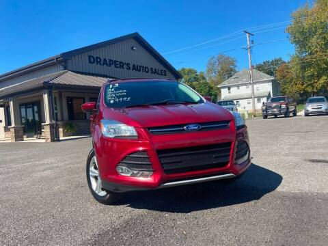 2013 Ford Escape for sale at Drapers Auto Sales in Peru IN