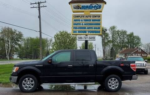 2013 Ford F-150 for sale at JEREMYS AUTOMOTIVE in Casco MI
