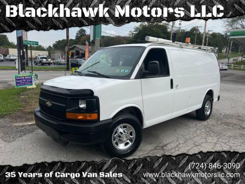 2012 Chevrolet Express Cargo for sale at Blackhawk Motors LLC in Beaver Falls PA