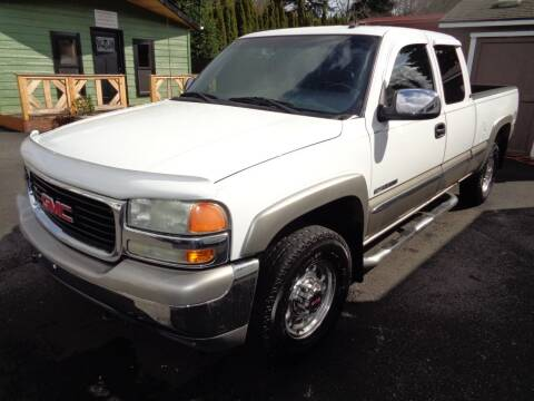 2002 GMC Sierra 2500 for sale at PG Motors in Portland OR