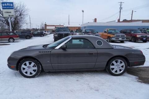 2003 Ford Thunderbird for sale at Paris Fisher Auto Sales Inc. in Chadron NE