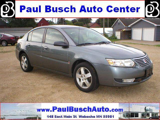 2007 Saturn Ion for sale at Paul Busch Auto Center Inc in Wabasha MN
