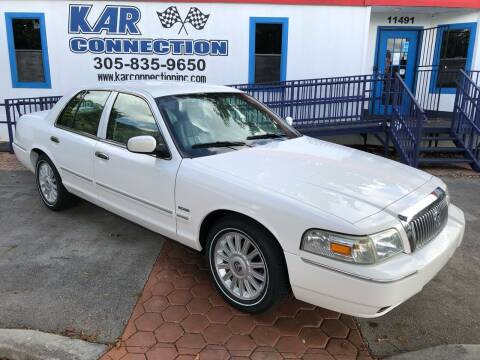 2010 Mercury Grand Marquis for sale at Kar Connection in Miami FL