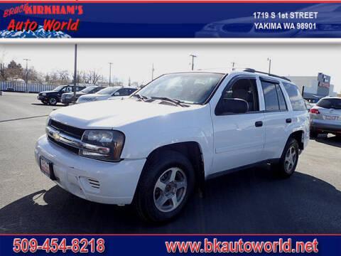 2006 Chevrolet TrailBlazer for sale at Bruce Kirkham Auto World in Yakima WA
