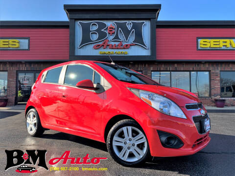 2013 Chevrolet Spark for sale at B & M Auto Sales Inc. in Oak Forest IL