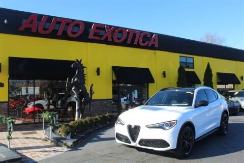 2019 Alfa Romeo Stelvio for sale at Auto Exotica in Red Bank NJ