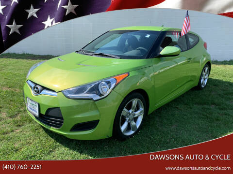 2012 Hyundai Veloster for sale at Dawsons Auto & Cycle in Glen Burnie MD