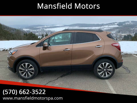 2017 Buick Encore for sale at Mansfield Motors in Mansfield PA