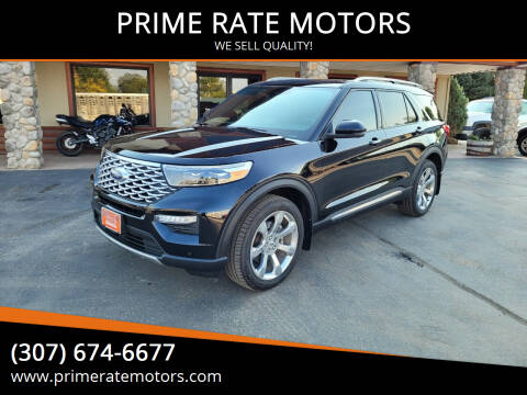 2020 Ford Explorer for sale at PRIME RATE MOTORS in Sheridan WY