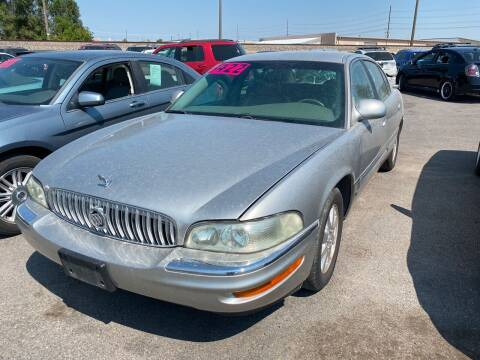 2003 Buick Park Avenue for sale at BELOW BOOK AUTO SALES in Idaho Falls ID