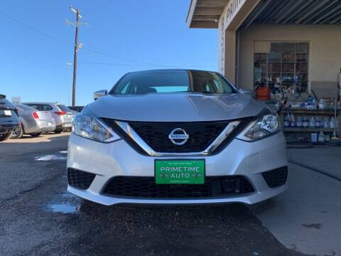 2019 Nissan Sentra for sale at Primetime Auto in Corpus Christi TX