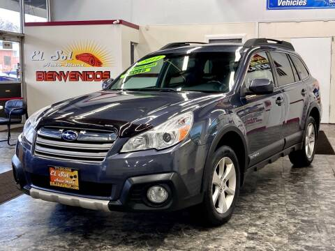 2014 Subaru Outback for sale at EL SOL AUTO MART in Franklin Park IL