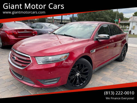 2013 Ford Taurus for sale at Giant Motor Cars in Tampa FL
