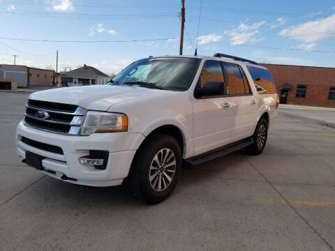 2016 Ford Expedition EL for sale at KHAN'S AUTO LLC in Worland WY
