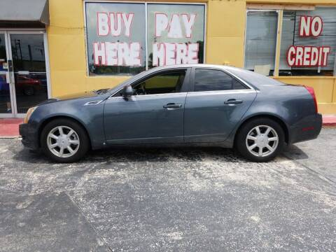 2007 Cadillac CTS for sale at BSS AUTO SALES INC in Eustis FL