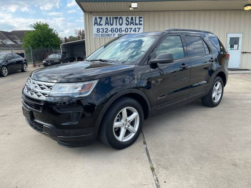 2018 Ford Explorer for sale at AZ Auto Sale in Houston TX
