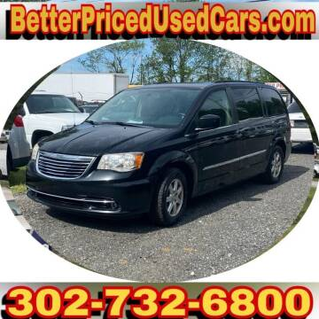 2011 Chrysler Town and Country for sale at Better Priced Used Cars in Frankford DE