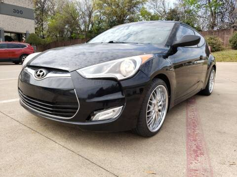 2013 Hyundai Veloster for sale at ZNM Motors in Irving TX