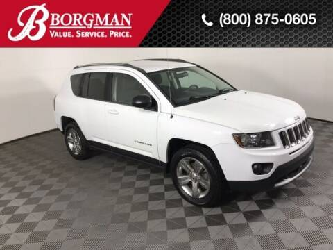 2014 Jeep Compass for sale at BORGMAN OF HOLLAND LLC in Holland MI