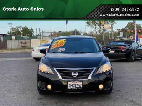 2015 Nissan Sentra for sale at Stark Auto Sales in Modesto CA