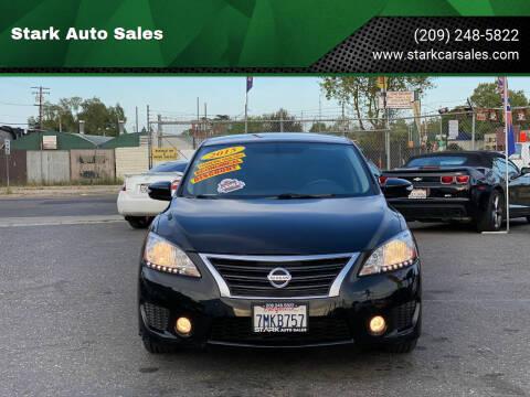 2015 Nissan Sentra for sale at Stark Auto Sales in Modesto CA